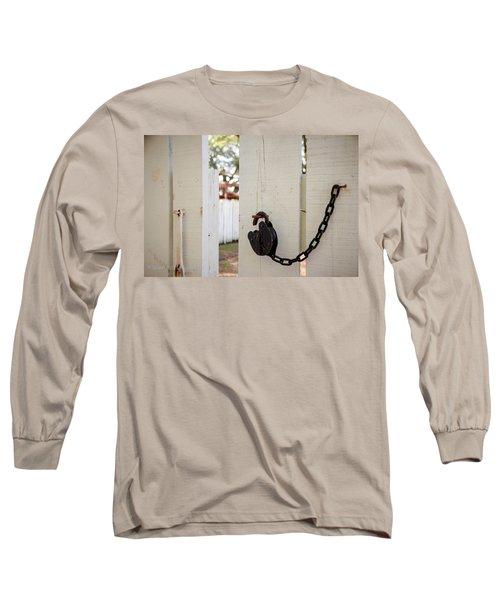 Sneaky Sneaky Long Sleeve T-Shirt by Stefanie Silva