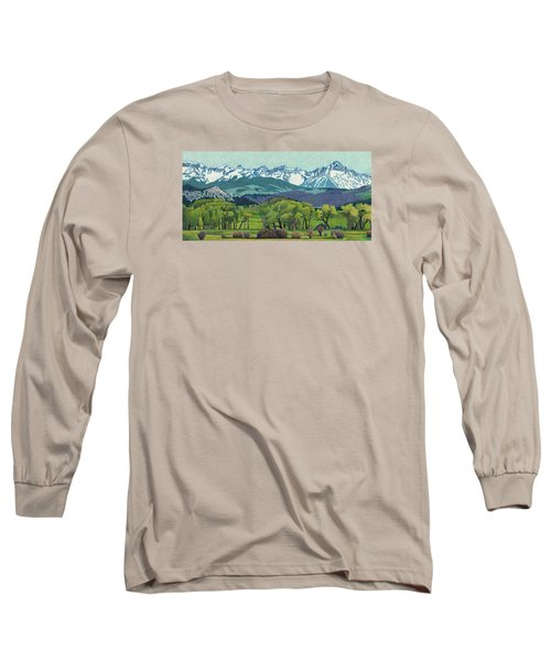Sneffels Range Spring Long Sleeve T-Shirt by Dan Miller