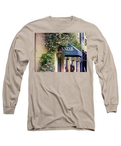 Snob Long Sleeve T-Shirt