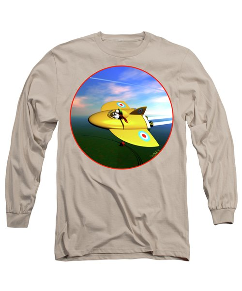 Snoopy The Flying Ace Long Sleeve T-Shirt