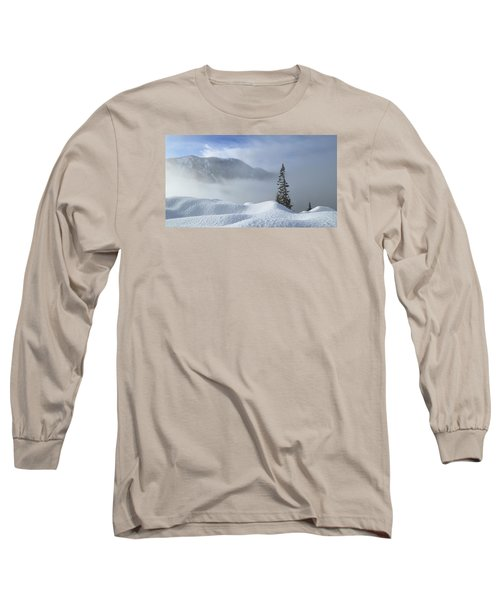 Snow And Silence Long Sleeve T-Shirt by Lynn Hopwood