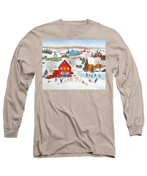 Snow Family  Long Sleeve T-Shirt