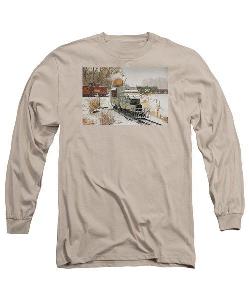 Long Sleeve T-Shirt featuring the photograph Snow Goose by Ken Smith
