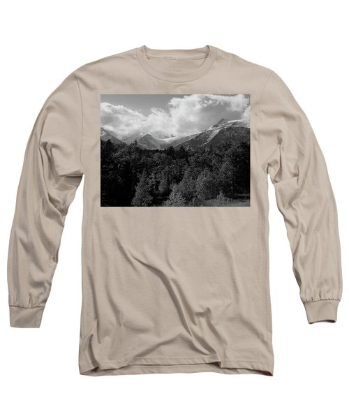 Snow On The Mountains Long Sleeve T-Shirt