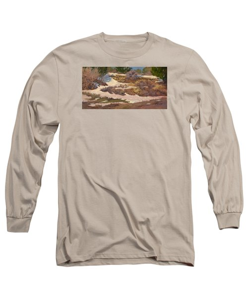 Snow Patch Long Sleeve T-Shirt by Jane Thorpe