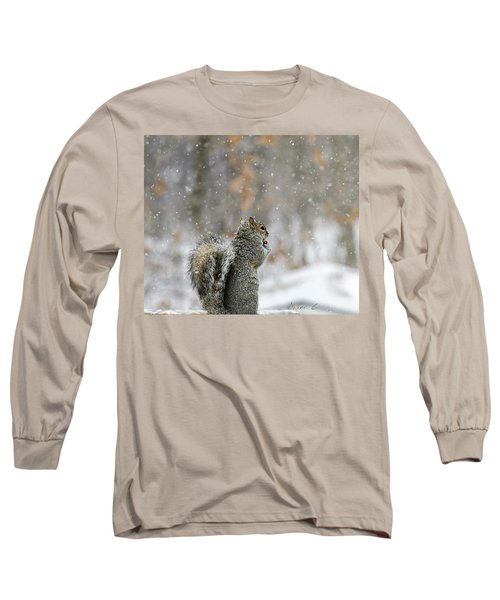 Snow Squirrel Long Sleeve T-Shirt