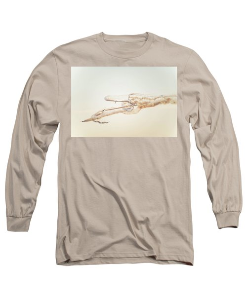 Snowbirds Over English Bay Long Sleeve T-Shirt