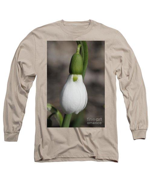Snowdrop #2 Long Sleeve T-Shirt