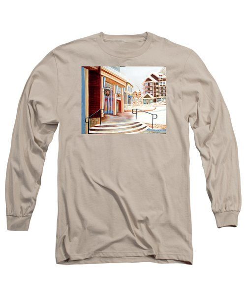 Snowshoe Village Shops Long Sleeve T-Shirt