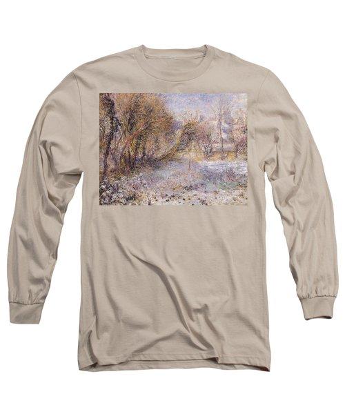 Snowy Landscape Long Sleeve T-Shirt