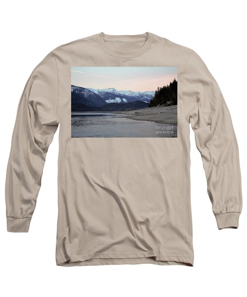 Long Sleeve T-Shirt featuring the photograph Snowy Mountains by Victor K