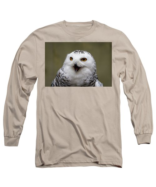 Snowy Sings Long Sleeve T-Shirt