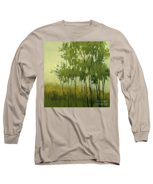 So Tall Tree Forest Landscape Painting Long Sleeve T-Shirt