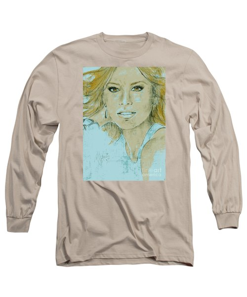 Sofia Vergara Long Sleeve T-Shirt by P J Lewis