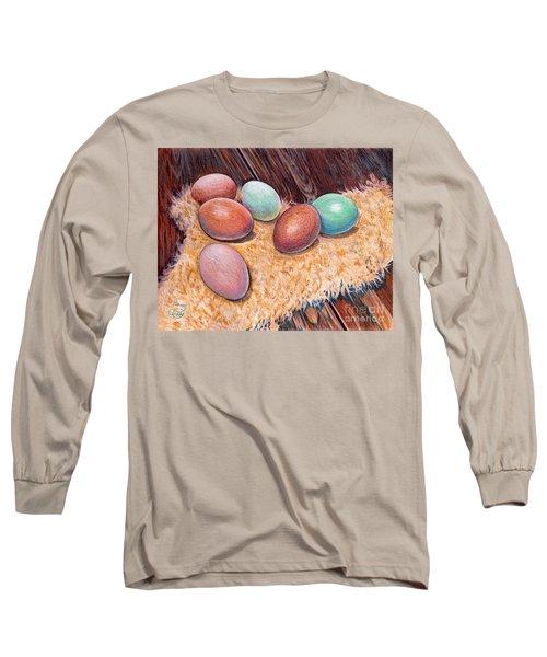 Soft Eggs Long Sleeve T-Shirt