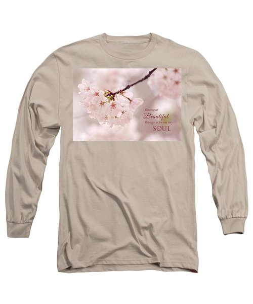Soft Medley With Message Long Sleeve T-Shirt