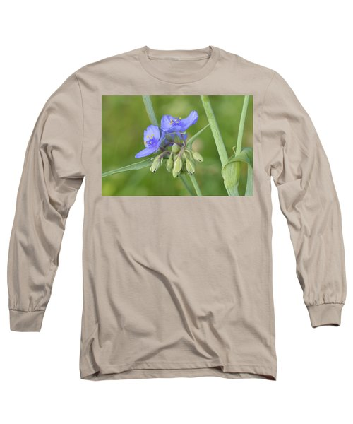 Soft Purple Spider Long Sleeve T-Shirt