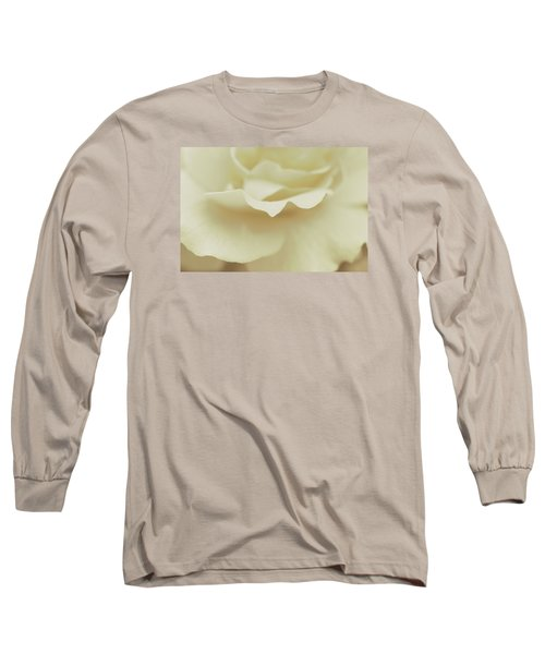 Long Sleeve T-Shirt featuring the photograph Soft Tender Rose by The Art Of Marilyn Ridoutt-Greene