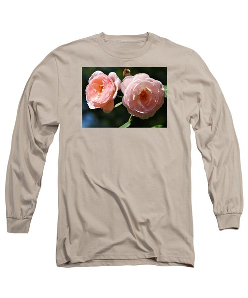 Long Sleeve T-Shirt featuring the photograph Softly Pink by Al Fritz