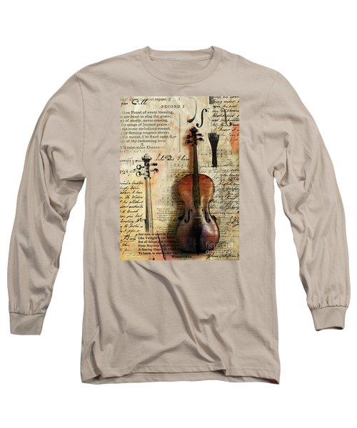 Soli Deo Gloria Long Sleeve T-Shirt by Gary Bodnar