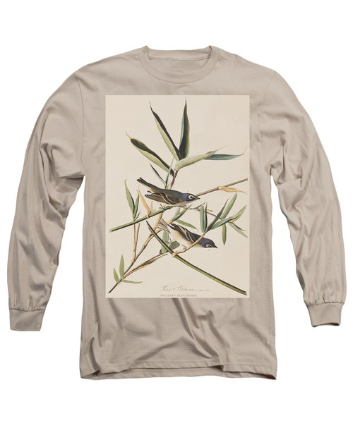 Solitary Flycatcher Or Vireo Long Sleeve T-Shirt by John James Audubon