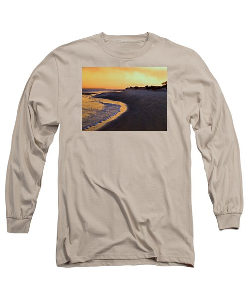 Long Sleeve T-Shirt featuring the photograph Solitary Walker by Laura Ragland