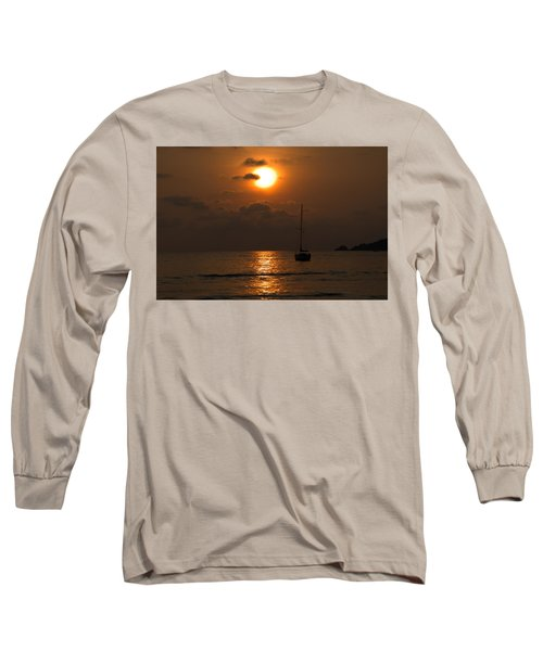 Solitude Long Sleeve T-Shirt by Jim Walls PhotoArtist