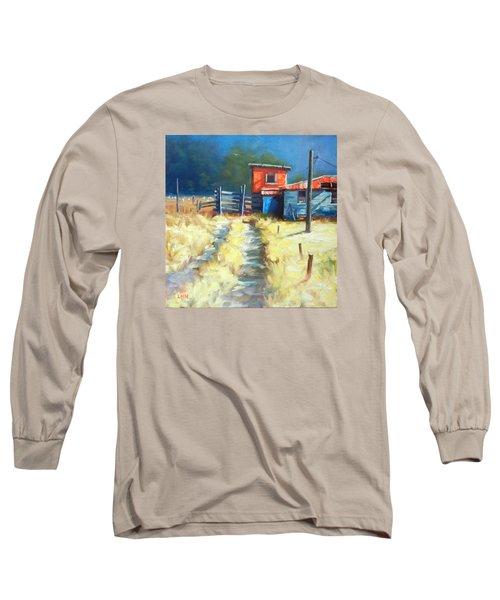 Somewhere Far Away, Peru Impression Long Sleeve T-Shirt