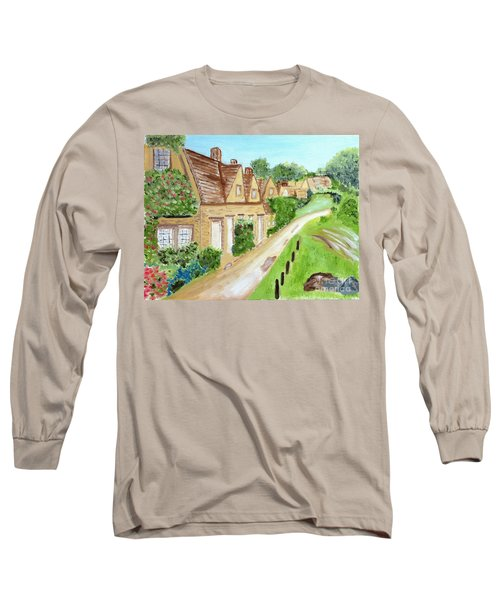 Somewhere In Cotswolds South West England Long Sleeve T-Shirt