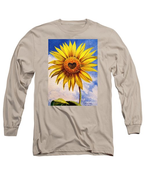 Son Kissed Long Sleeve T-Shirt by Nancy Cupp