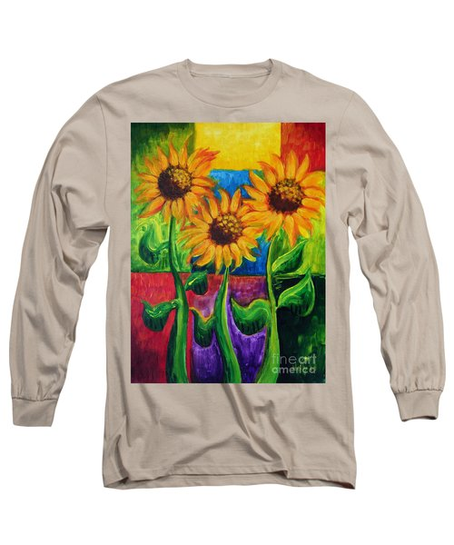Sonflowers II Long Sleeve T-Shirt