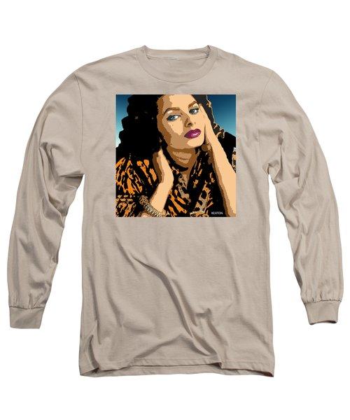 Sophia Long Sleeve T-Shirt by John Keaton