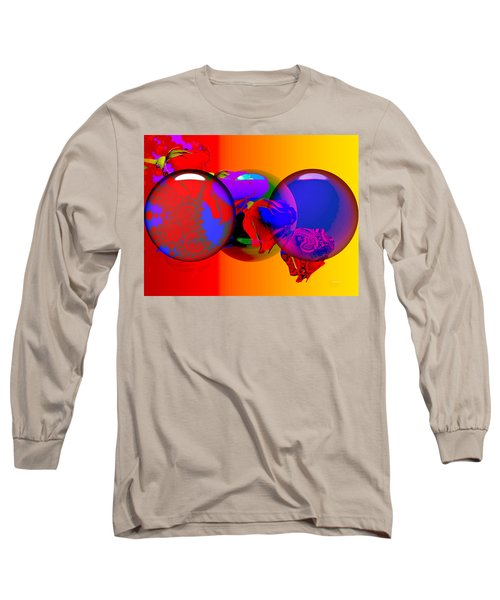 Long Sleeve T-Shirt featuring the digital art Sophistacated Lady by Robert Orinski