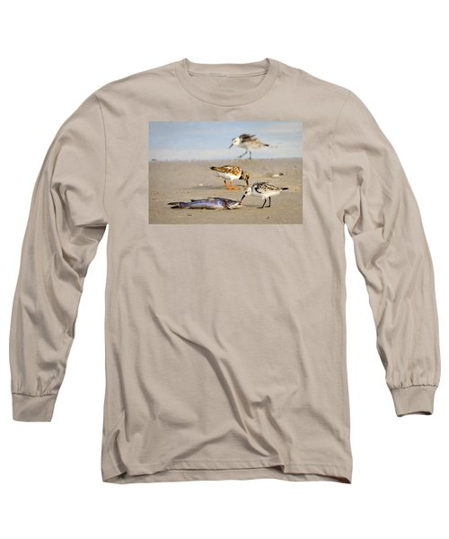 Long Sleeve T-Shirt featuring the photograph Sorry Buddy by Debra Martz
