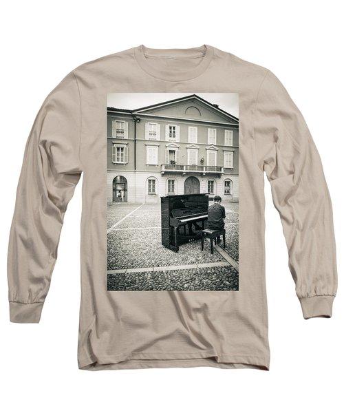Soul Long Sleeve T-Shirt by Alfio Finocchiaro