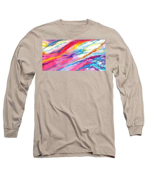 Soul Escaping Long Sleeve T-Shirt by Expressionistart studio Priscilla Batzell
