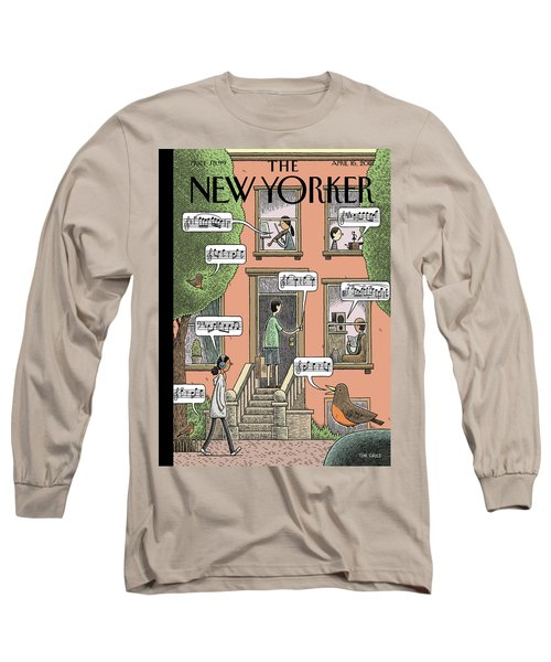 Soundtrack To Spring Long Sleeve T-Shirt