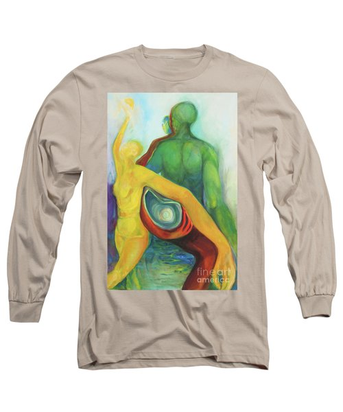 Source Keepers Long Sleeve T-Shirt by Daun Soden-Greene