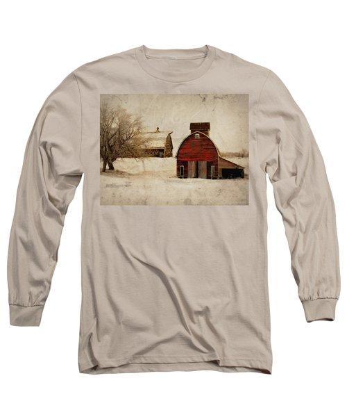 South Dakota Corn Crib Long Sleeve T-Shirt