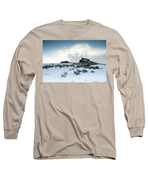 South Hessary Tor In The Snow II Long Sleeve T-Shirt