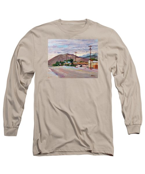 South On Route 395, Big Pine, California Long Sleeve T-Shirt