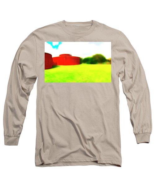 South Walls Long Sleeve T-Shirt by Jan W Faul