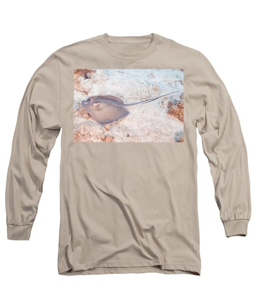 Southern Stingray - Dasyatis Americana Long Sleeve T-Shirt