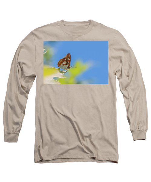 Southern White Admiral - Limenitis Reducta Long Sleeve T-Shirt