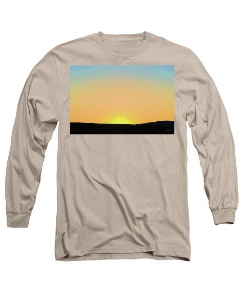Long Sleeve T-Shirt featuring the photograph Southwestern Sunset by David Gordon