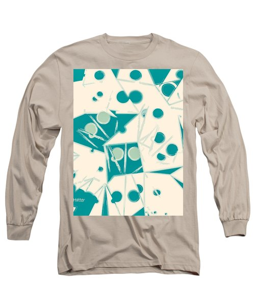 Space-time Long Sleeve T-Shirt by Moustafa Al Hatter
