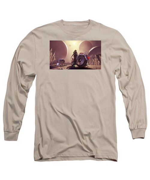 Space The Final Frontier Long Sleeve T-Shirt