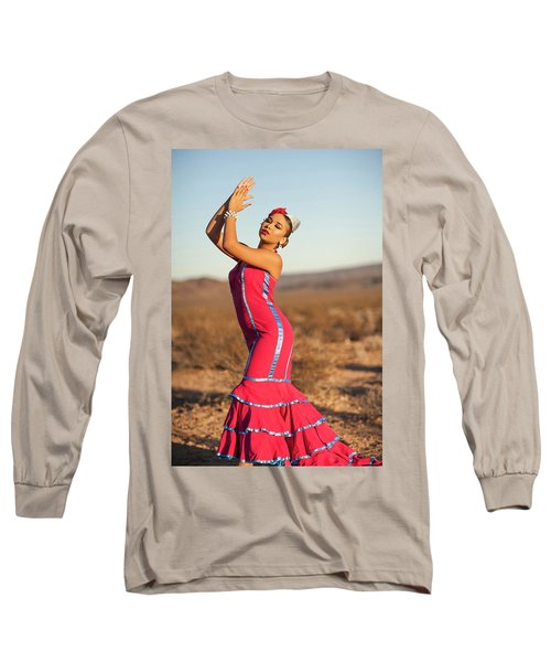 Spanish Dancer Long Sleeve T-Shirt