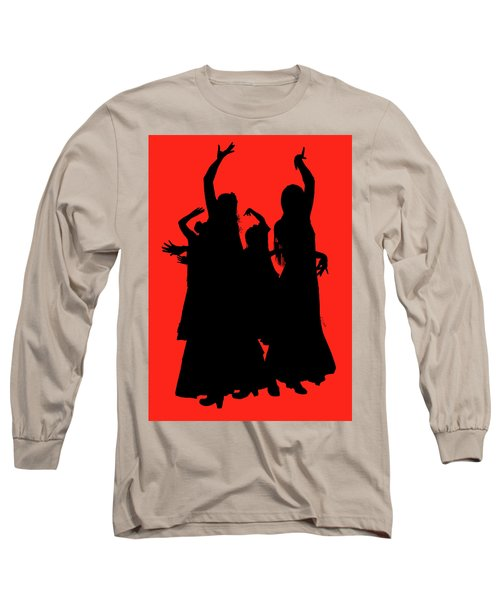 Long Sleeve T-Shirt featuring the photograph Spanish Dancers by Jeff Burgess