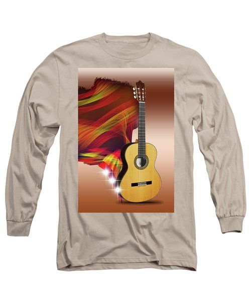 Spanish Guitar Long Sleeve T-Shirt
